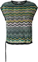 M Missoni embroidered sleeveless top