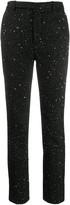 Saint Laurent sequinned slim fit trousers
