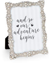 "Enchante 5""x7"" Jeweled Picture Frame"