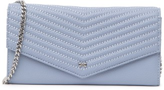 Ted Baker Quilted Envelope Leather Crossbody Bag