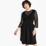 Castaluna Plus Size Laced Skater Dress