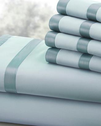 Modern Threads 1000Tc 6Pc Cotton Easy Care Sheet Set