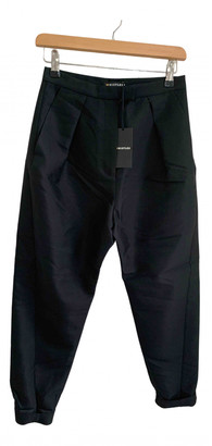 Whistles Black Wool Trousers