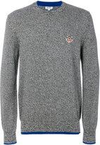 Kenzo tiger crest sweater - men - Wool - S