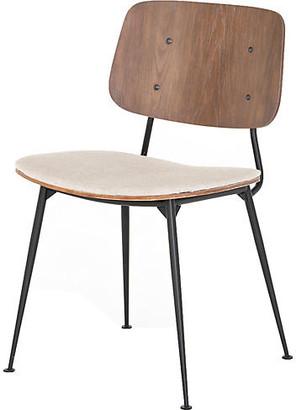 One Kings Lane Rylan Dining Chair - Acorn/ Linen