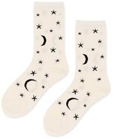 Hansel from Basel Moon Stars Crew Socks