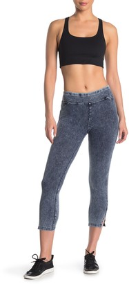 Andrew Marc Cropped Denim Leggings