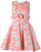 MSGM jacquard skater dress - women - Polyamide/Polyester/Metallic Fibre - 42