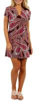 24/7 Comfort Apparel Apparel Sunshine Mini Dress