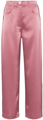 Nanushka Marfa satin trousers