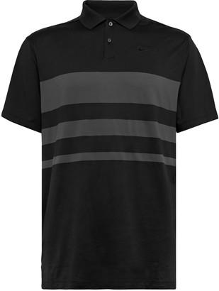 Nike Vapor Striped Dri-Fit Golf Polo Shirt