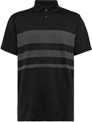 Nike Vapor Striped Dri-Fit Golf Polo Shirt