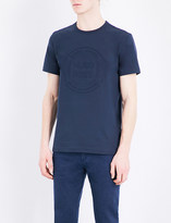 HUGO BOSS Embossed-logo cotton-jersey t-shirt