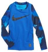 Nike Pro HyperWarm Fitted Top (Little Boys & Big Boys)
