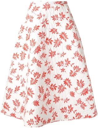 Lulu Lee Mathews floral quilted skirt