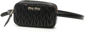Miu Miu Mini Matelasse Nappa Belt Bag