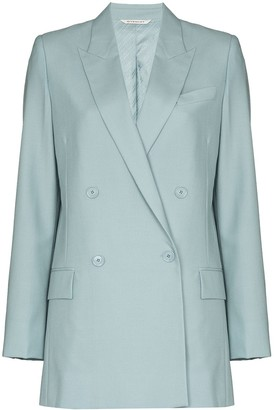 Givenchy Oversize Double-Breasted Blazer