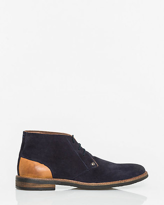 Le Château Suede & Leather Desert Boot