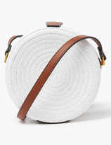 Marks and Spencer Straw Circle Cross Body Bag