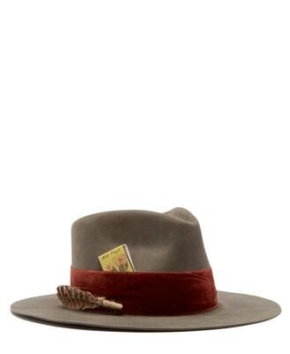 Nick Fouquet Publix Felt Fedora Hat - Mens - Grey