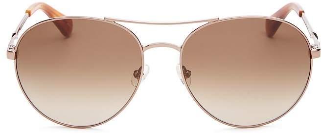 e6c899d473ceb Kate Spade New York Aviator Sunglasses - ShopStyle