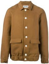 Sunnei cutaway collar bomber jacket