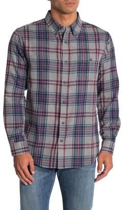 Weatherproof Vintage Plaid Flannel Long Sleeve Shirt