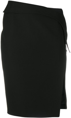 Thierry Mugler Semi-Sheer Midi Dress