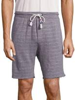 Sol Angeles Stiped Cotton Blend Shorts