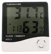 Generic GEN60528 Temperature and Humidity Meter with Alarm Clock Hygrometer