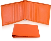 Giorgio Fedon Classica - Men's Orange Calfskin Card Holder Wallet