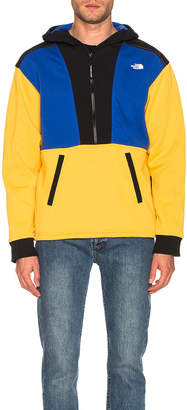 The North Face NSE Graphic Pullover Hoodie in TNF Yellow & TNF Blue & TNF Black | FWRD
