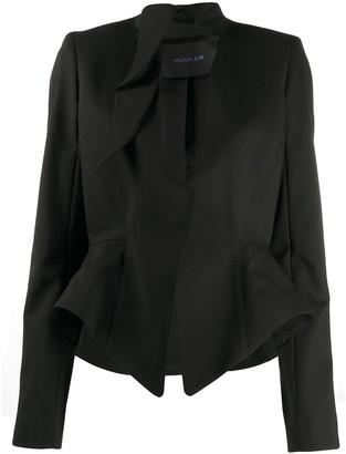 Thierry Mugler Fitted Peplum Jacket