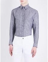 Eton Slim-fit Linen Shirt