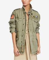 Polo Ralph Lauren Cotton Military Jacket