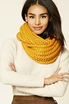 Forever 21 FOREVER 21+ Ribbed Knit Infinity Scarf