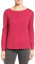 Nordstrom Women's Boatneck Cashmere Sweater