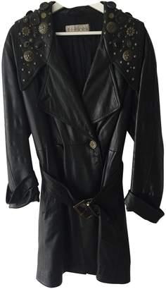 Martine Sitbon Black Leather Coat for Women Vintage