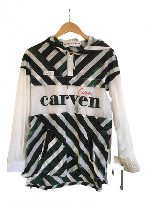 Carven Green Viscose Tops