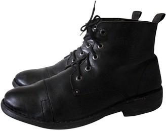 Levi's Black Leather Boots
