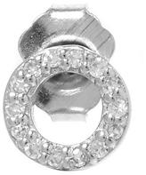 KC Designs Rose Gold Diamond O Single Stud Earring