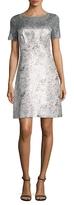 T Tahari Serina Mesh Lace Dress