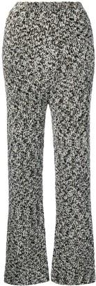 Loewe lurex knit trousers