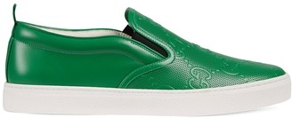 Gucci GG-embossed slip-on sneakers