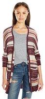 Billabong Juniors Stripes Over You Cardigan Sweater