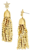 BaubleBar Comet Tassel Drop Earrings