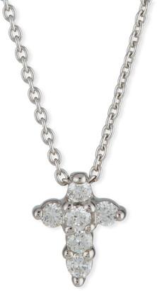 Roberto Coin Baby Cross Necklace