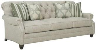Lexington Oyster Bay Sofa Leg Color: Brown