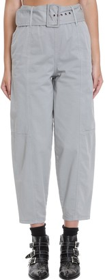 See by Chloe Pants In Grey Cotton