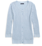 Tommy Hilfiger Final Sale-3/4 Sleeve Cable Cardigan